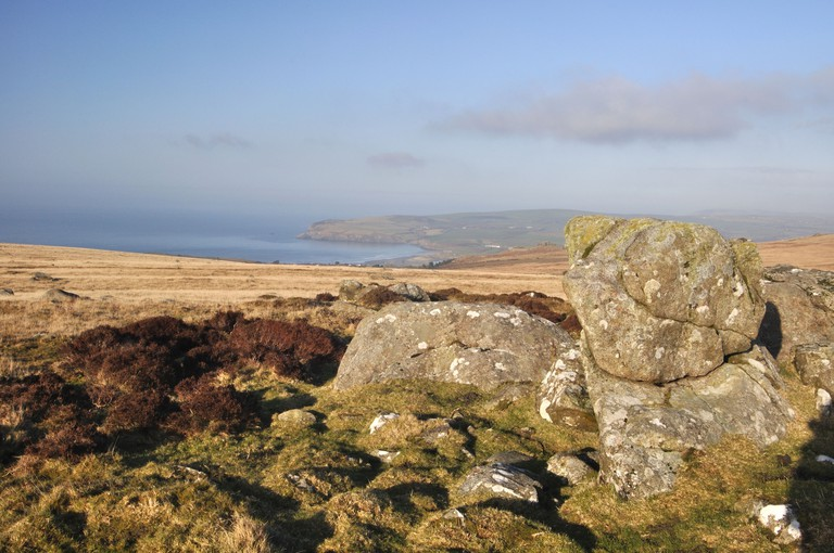 Carningli common, Preseli hills, Newport, Pembrokeshire, Wales, United Kingdom