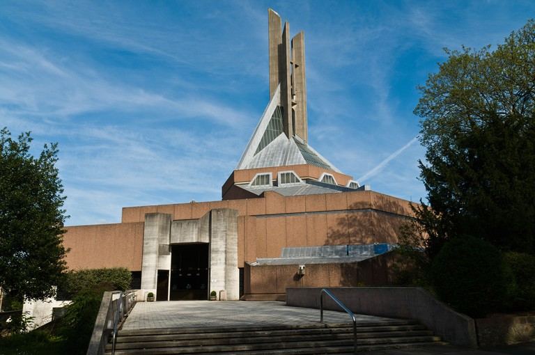 dh St Peter and St Paul cathedral CLIFTON BRISTOL Roman Catholic Church of building uk modern english architecture. Image shot 2011. Exact date unknown.