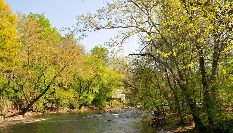 Brandywine River, Delaware, near the Hagley Museum