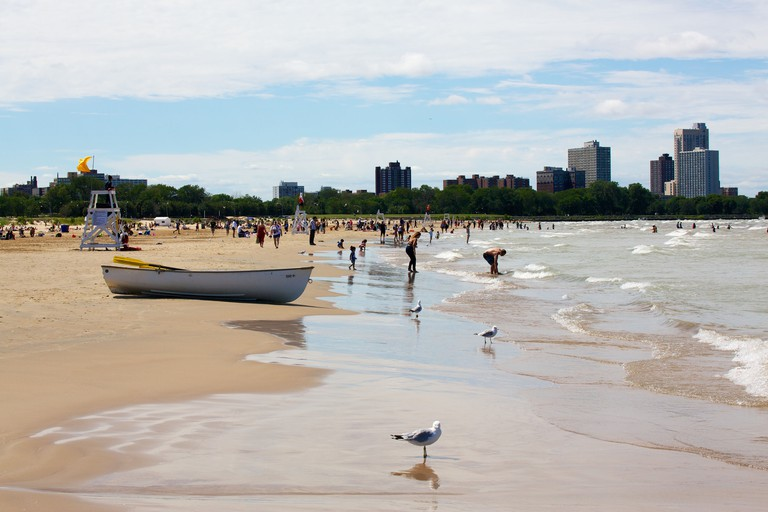 Montrose Beach, Chicago.