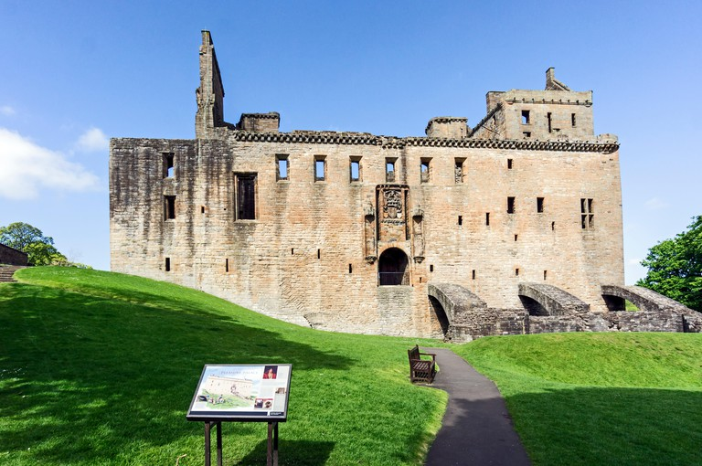 Linlithgow Palace - birth-place of Mary Queen of Scots - In Linlithgow West Lothian Scotland