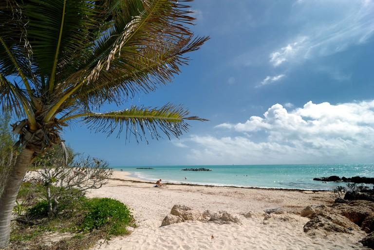 Fort Zachary Taylor Beach, Key West, Florida.