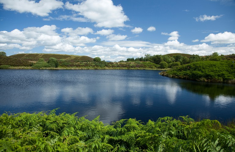 Summer at the Gortin Lakes, Sperrin Mountains, County Tyrone, Northern Ireland.