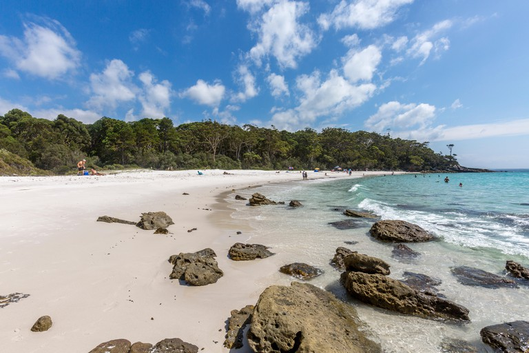 Greenfield Beach in Jervis Bay on the south coast of New South Wales,Australia