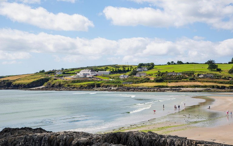 Inchydoney beach, near Clonakilty, West Cork, County Cork, Republic of Ireland.