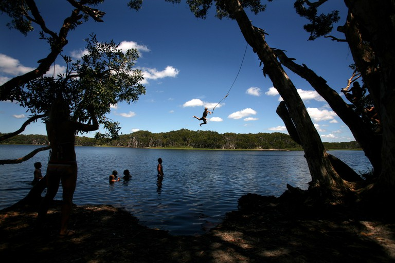 Lake Ainsworth Lennox Head the town with a great Lake and a great Break.