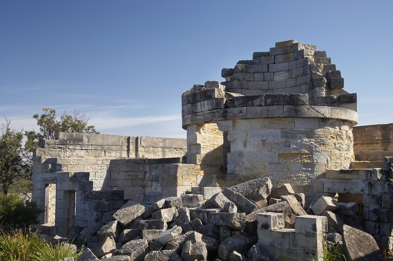 Cape St George Lighthouse Ruin 1860 Jervis Bay Territory Australia