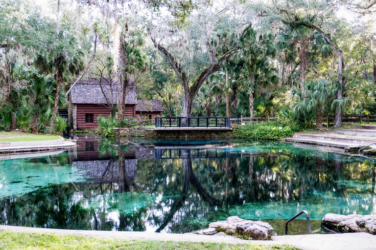 Juniper Springs in Ocala National Forest, Florida, USA