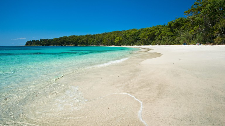 Murrays Beach in Booderee National Park, part of Jervis Bay
