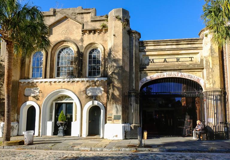 Charleston, South Carolina, USA - September 30, 2017: Old Slave Mart in Charleston, South Carolina, USA