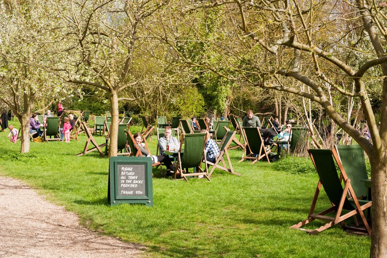 The Orchard tea garden in Grantchester is a Cambridge institution.
