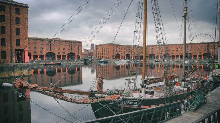Liverpool's Royal Albert Dock is home to the largest collection of listed buildings in the UK