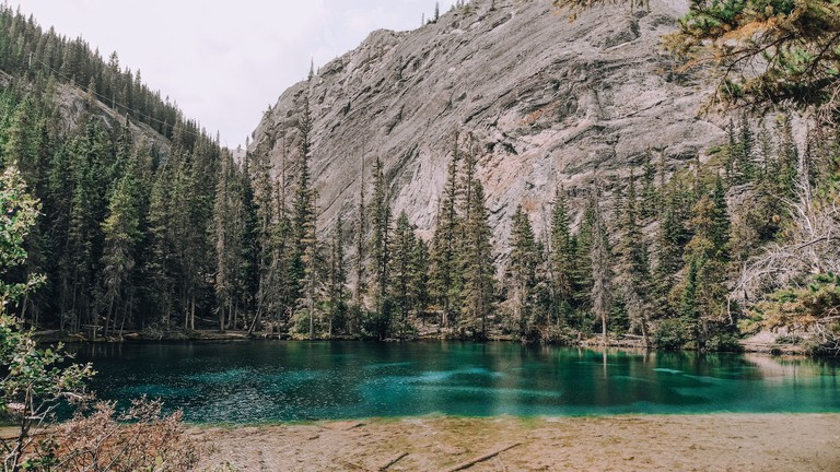 Canmore and Grassi Lakes