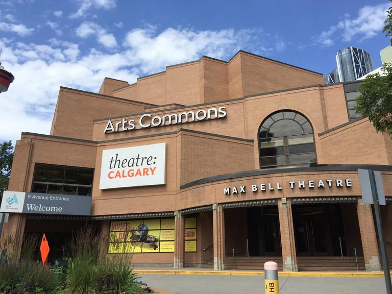 Downtown Calgary, Alberta, Canada, Arts Commons, theatre Calgary, Max Bell Theatre.