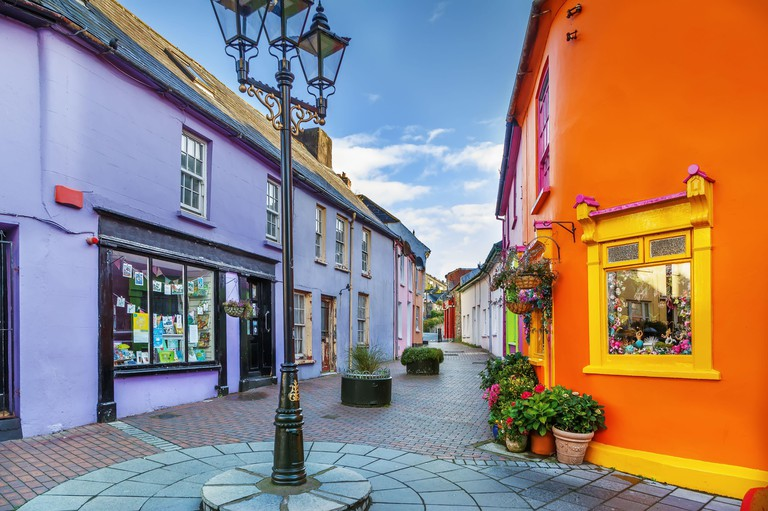Street in Kinsale, Ireland. Image shot 08/2019. Exact date unknown.