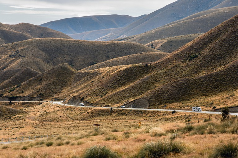 Lindis Pass, Otago, South Island