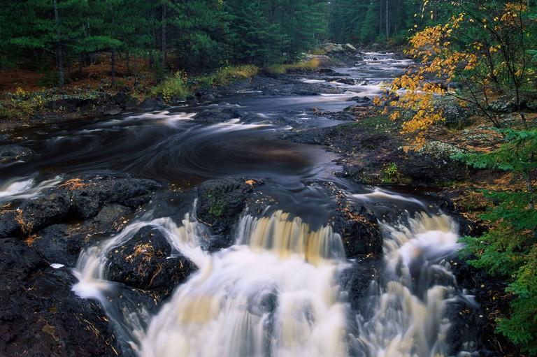 Amnicon River, Amnicon Falls State Park, Wisconsin