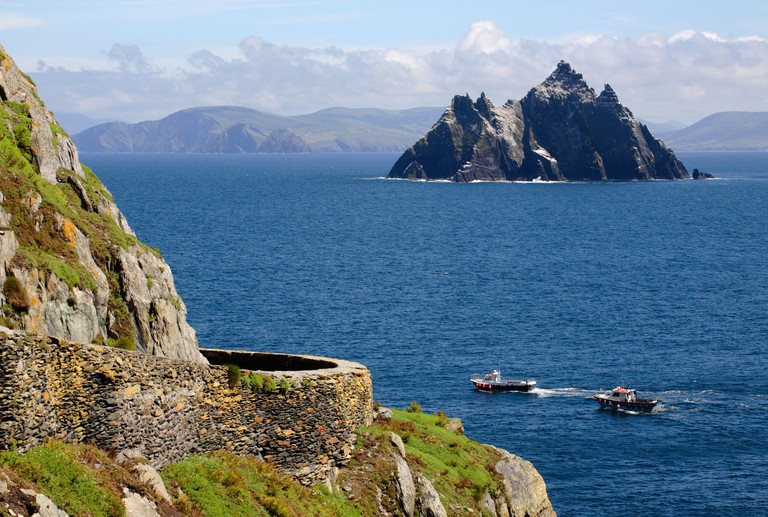 Skellig Michael, Co Kerry, Ireland. Image shot 2006. Exact date unknown.