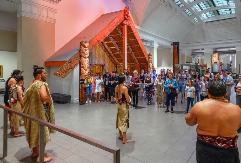Maori Cultural Performance, Auckland Museum (Auckland War Memorial Museum), Auckland, New Zealand