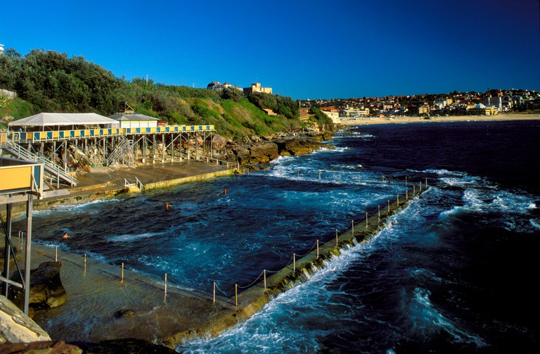Wylies Baths rock swimming pool at Coogee Beach