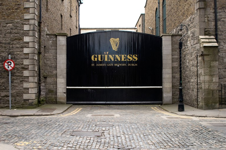 Guinness factory and Storehouse museum in Dublin Ireland