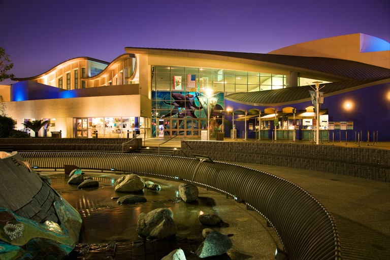 Aquarium of the Pacific Waterfront Center Long Beach California