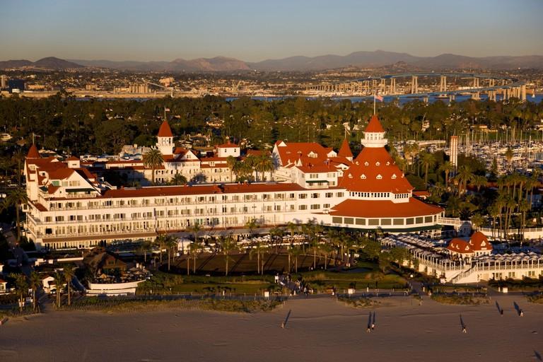 Hotel Del Coronado Coronado and downtown San Diego California