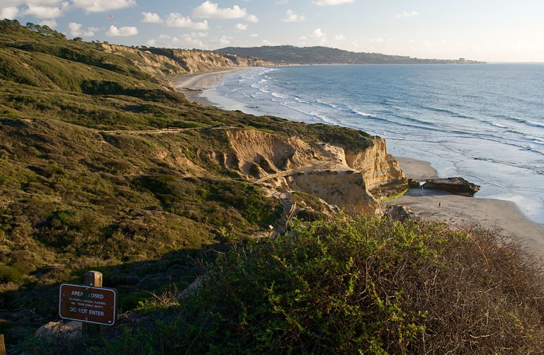 Torrey Pines State Beach in San Diego, California, USA.. Image shot 2009. Exact date unknown.