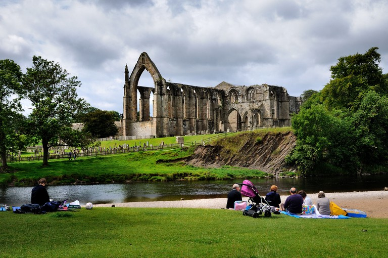 Bolton Abbey and the River Wharfe,Yorkshire Dales