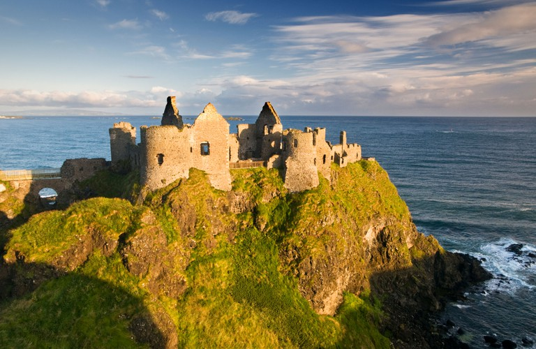Dunluce Castle, Northern Ireland.