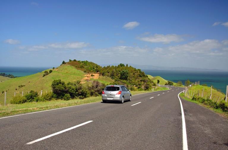 Whangapoua Road, Coromandel Peninsula, Waikato Region, North Island