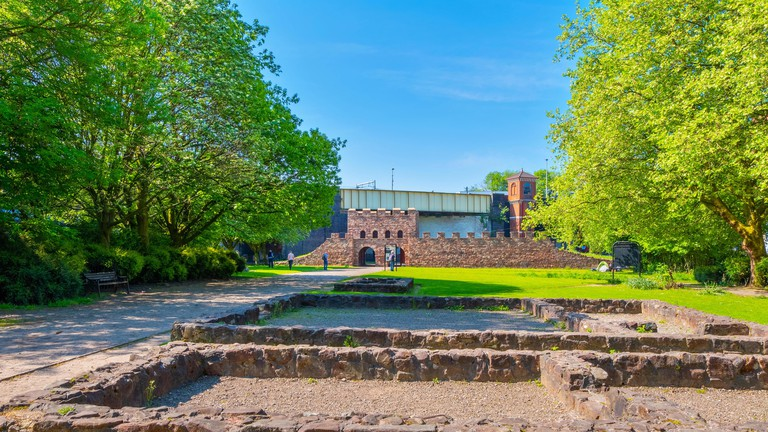 Castlefield's Roman Fort, Manchester