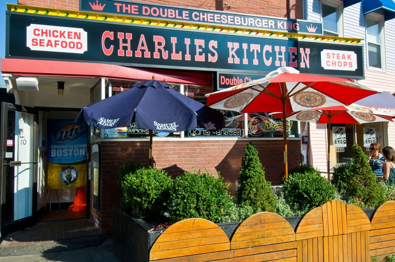 Charlies kitchen famous restaurant Cambridge