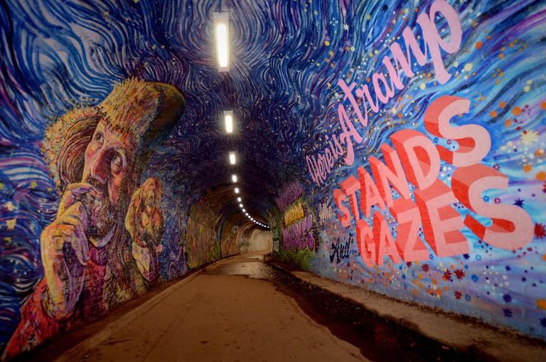 Colinton Tunnel Mural Project