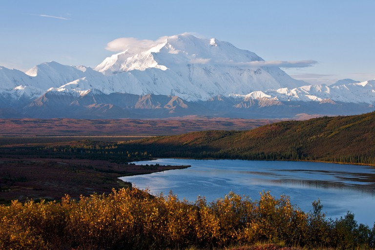 Mount McKinley.Denali National Park.Alaska.USA