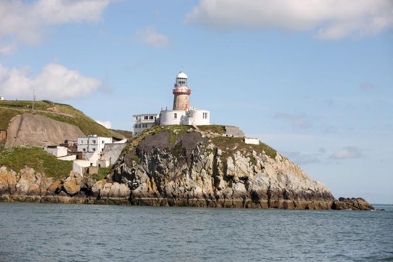 Baily lighthouse at Howth Head, Dublin Bay