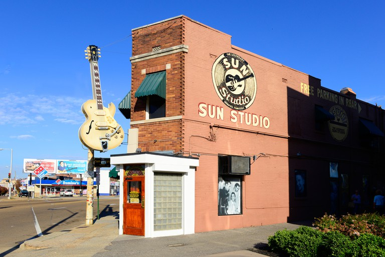 Sun Records Music Studio Elvis Presley Memphis Tennessee TN. Image shot 1000. Exact date unknown.