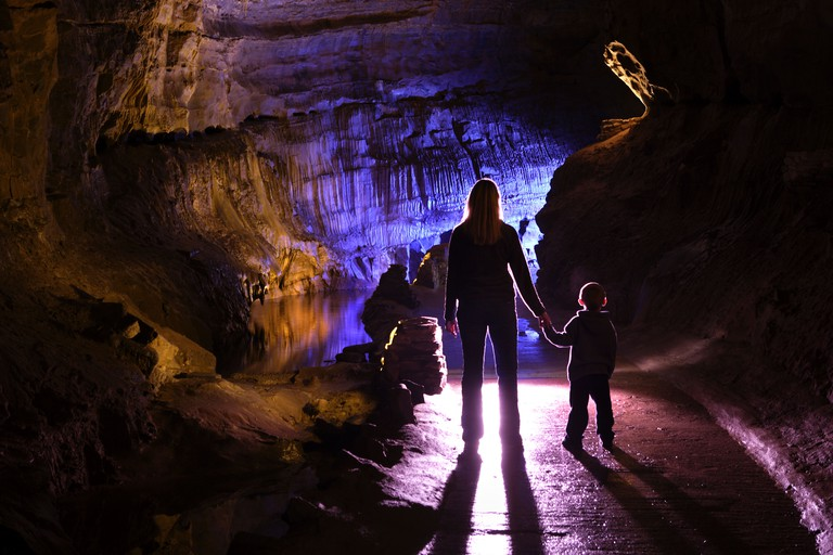 Dan Yr Ogof. The National Showcaves Centre for Wales