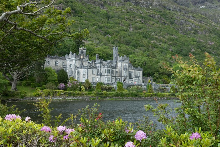 Kylemore Abbey, Benedictine monastery in connemara, County Galway, Ireland, Western Europe