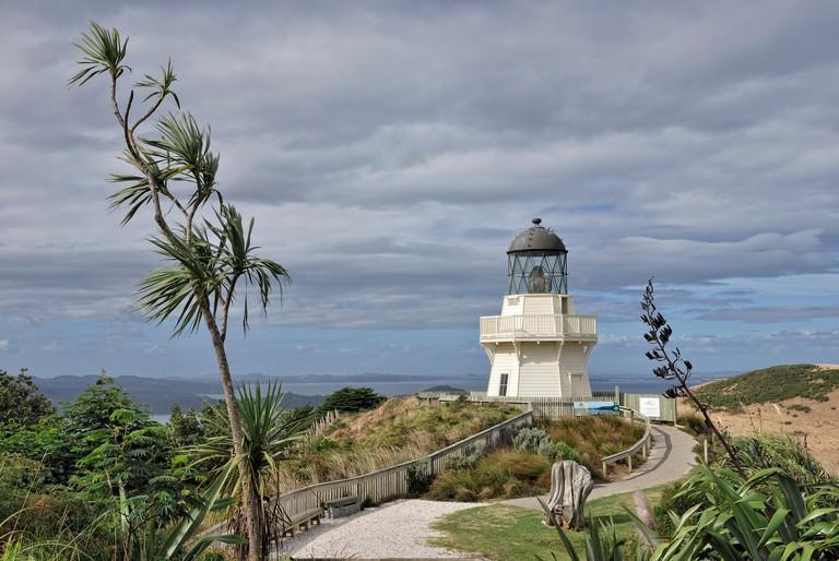 Manukau Heads Lighthouse, Manukau Peninsula, North Island, New Zealand