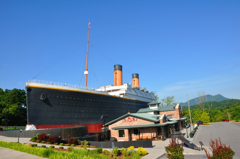 Titanic museum, Pigeon Forge, Tennessee, USA
