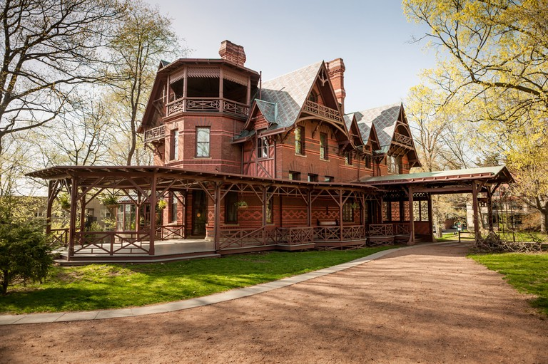 Mark Twain House, Hartford, Connecticut, USA.