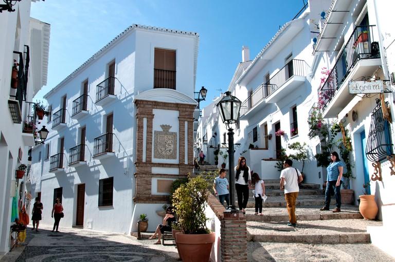 Frigiliana Malaga Spain Spanish White Village