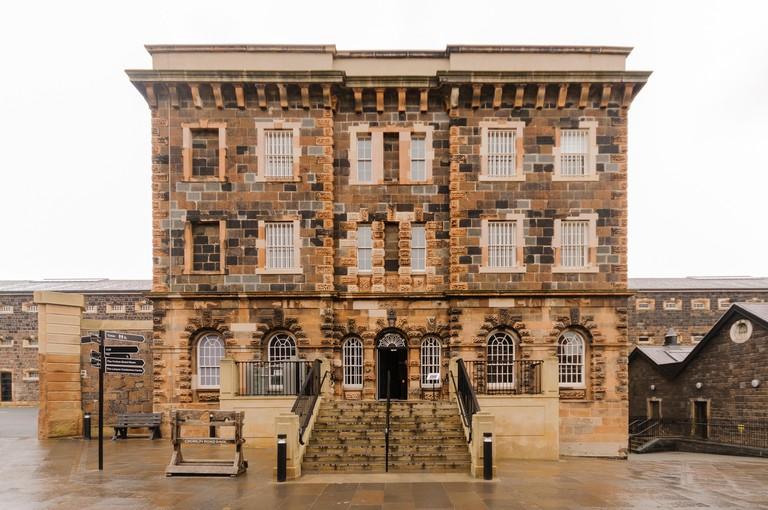 Outside of Crumlin Road Gaol