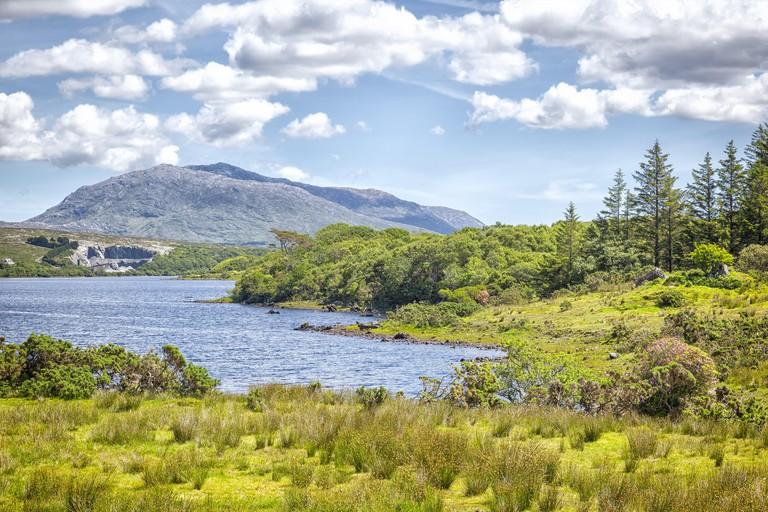 Lough Corrib Ireland. Image shot 10/2014. Exact date unknown.