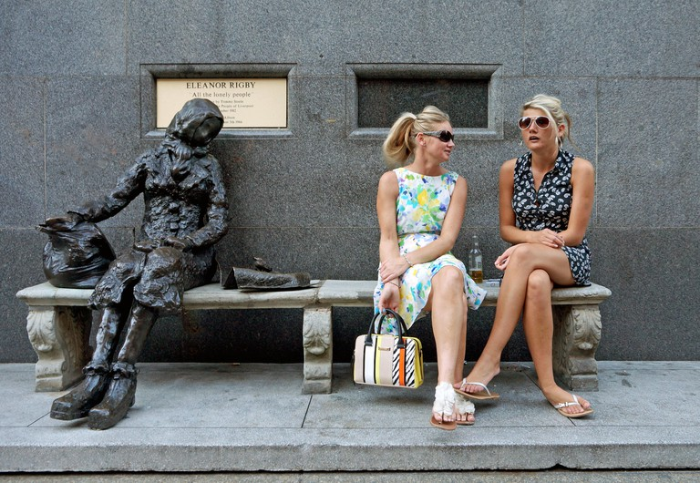 Eleanor Rigby Statue, Stanley Street, Liverpool