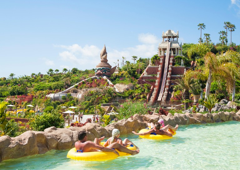 Siam Park water park on Tenerife, Canary Islands, Spain