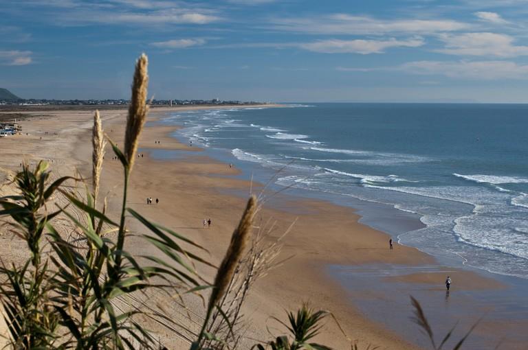 Beach Playa de Fontanilla, Conil de la Frontera, Costa de la Luz, Andalusia, Spain, Europe