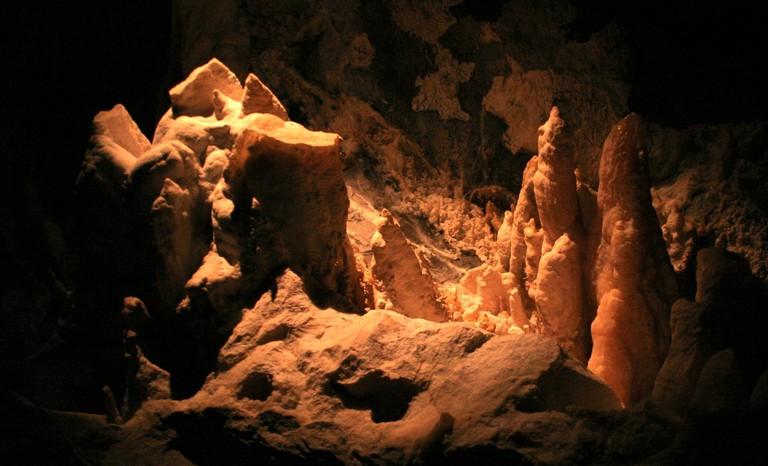 Timpanogos Cave In Provo, Utah In United States On September 17, 2006.