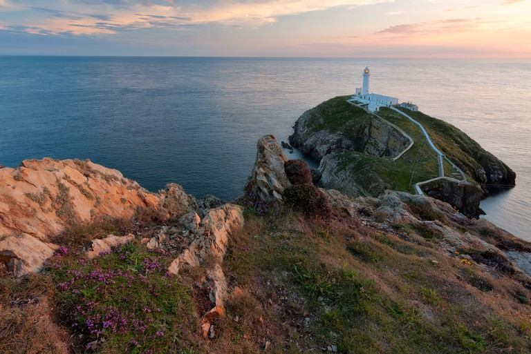 South Stack Lighthouse, Holyhead, North Wales, UK